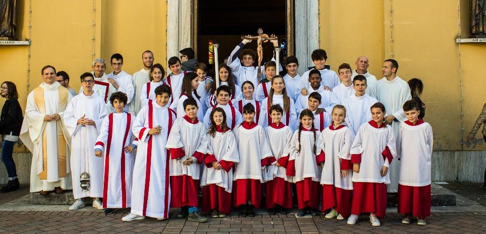 Festa del mandato dei Chierichetti e Ministranti di Lucrezia