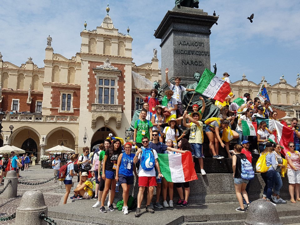 I Giovani di Lucrezia alla GMG di Cracovia