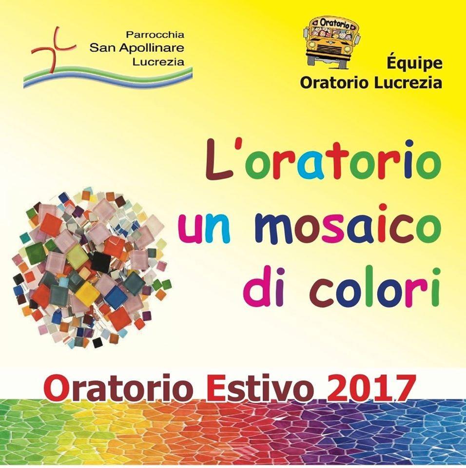 L'oratorio un mosaico di colori