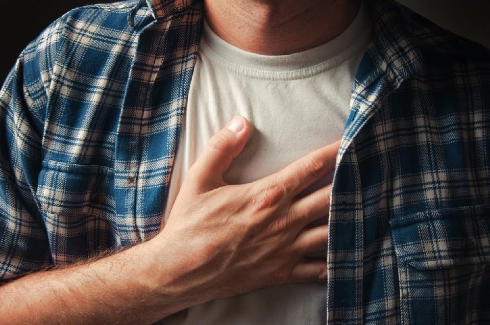 La mano sul cuore