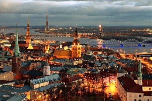 Lucrezia in volo per Riga