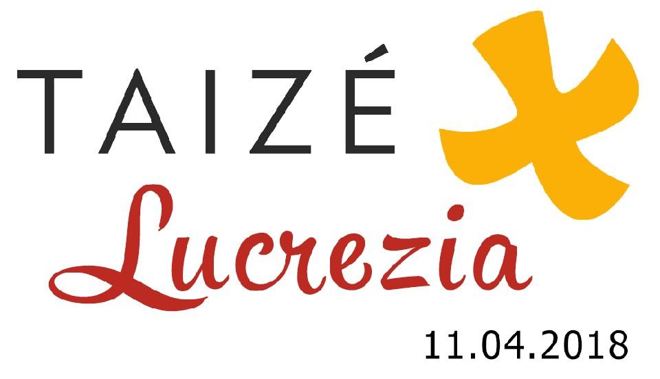 Due Fratelli di Taizé a Lucrezia - 11 Aprile 2018